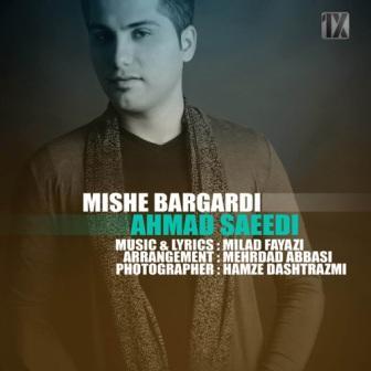 Ahmad Saeedi Mishe Bargardi دانلود آهنگ جدید احمد سعیدی به نام میشه برگردی