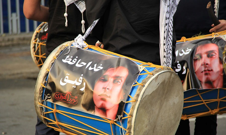 Morteza Pashaei 06 آخرین دیدار باشکوه مردم با مرتضی پاشایی به همراه تصاویر