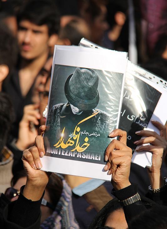 Morteza Pashaei 30 آخرین دیدار باشکوه مردم با مرتضی پاشایی به همراه تصاویر