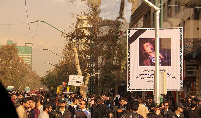 Morteza Pashaei 49 آخرین دیدار باشکوه مردم با مرتضی پاشایی به همراه تصاویر