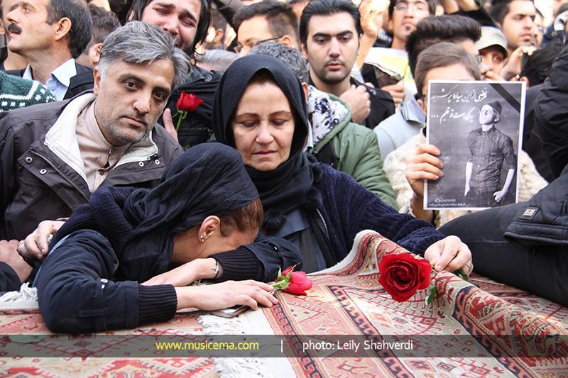 Morteza Pashaei 50 آخرین دیدار باشکوه مردم با مرتضی پاشایی به همراه تصاویر