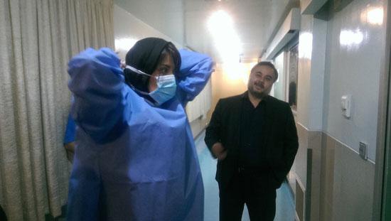 eyadat.2 عیادت هنرمندان از قربانی اسیدپاشی