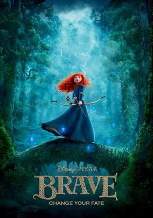 دانلود انیمیشن دوبله فارسی شجاع Brave 2012