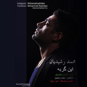 Mohammad Rashidian In Gorbe دانلود آهنگ جدید محمد رشیدیان به نام این گربه