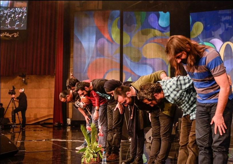 تصاویر کنسرت پرشور چارتار در جشنواره فجر