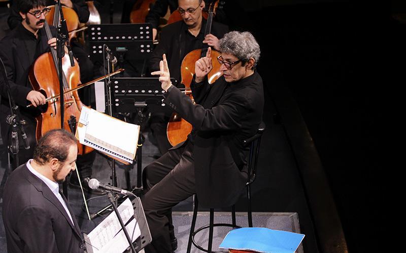orkester%2010 تصاویر اجرای ارکستر تهران در جشنواره فجر