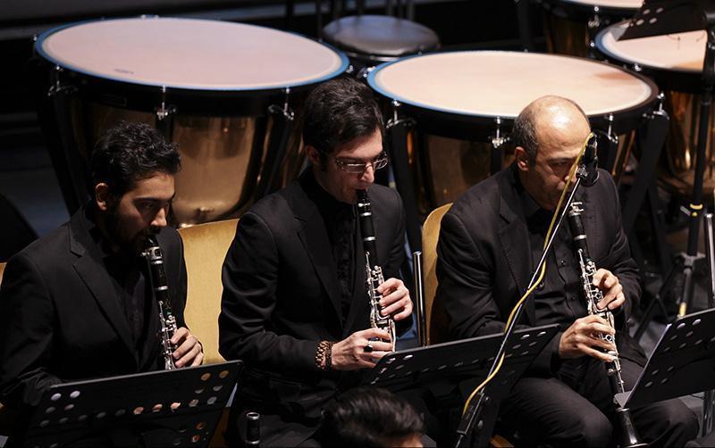 orkester%2011 تصاویر اجرای ارکستر تهران در جشنواره فجر