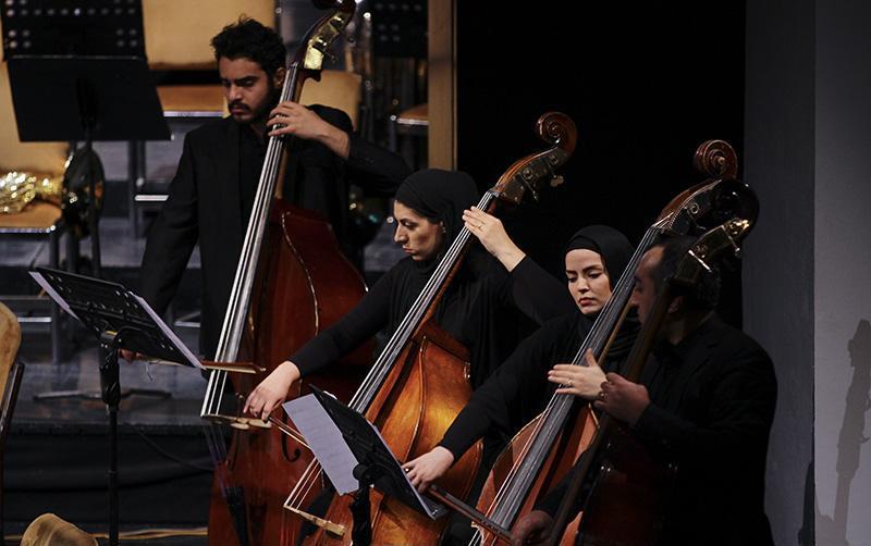 orkester%2012 تصاویر اجرای ارکستر تهران در جشنواره فجر
