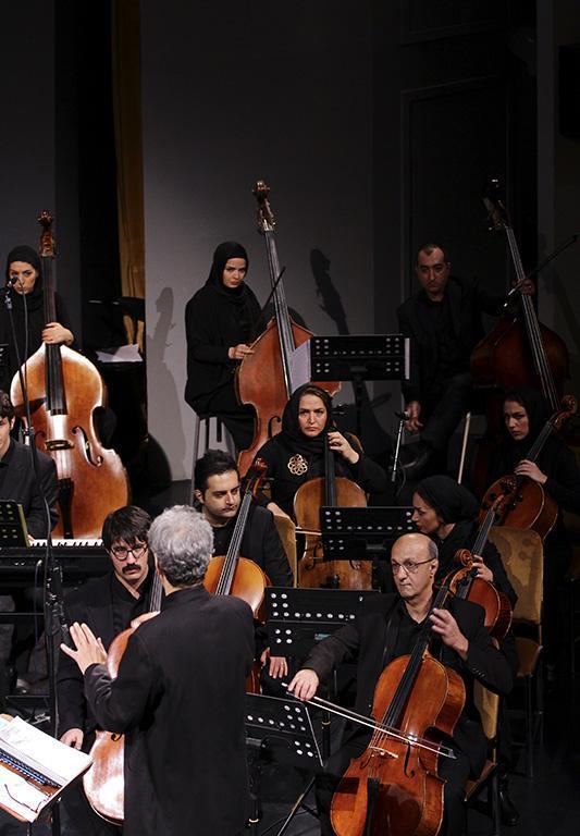 orkester%2017 تصاویر اجرای ارکستر تهران در جشنواره فجر