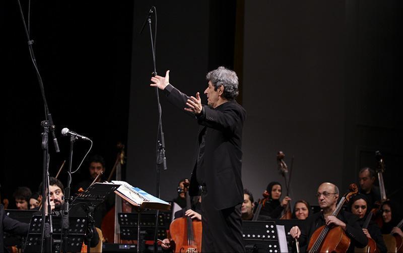 orkester%202 تصاویر اجرای ارکستر تهران در جشنواره فجر