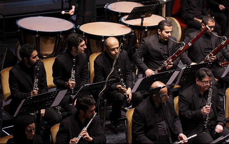 orkester%204 تصاویر اجرای ارکستر تهران در جشنواره فجر