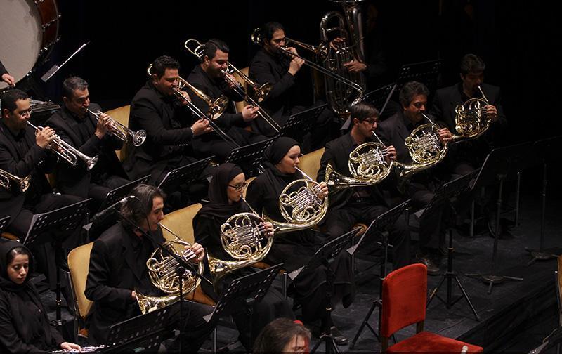 orkester%205 تصاویر اجرای ارکستر تهران در جشنواره فجر