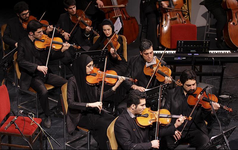 orkester%207 تصاویر اجرای ارکستر تهران در جشنواره فجر