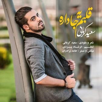 آهنگ جدید سعید کرمانی بنام قلبم یه جا داره