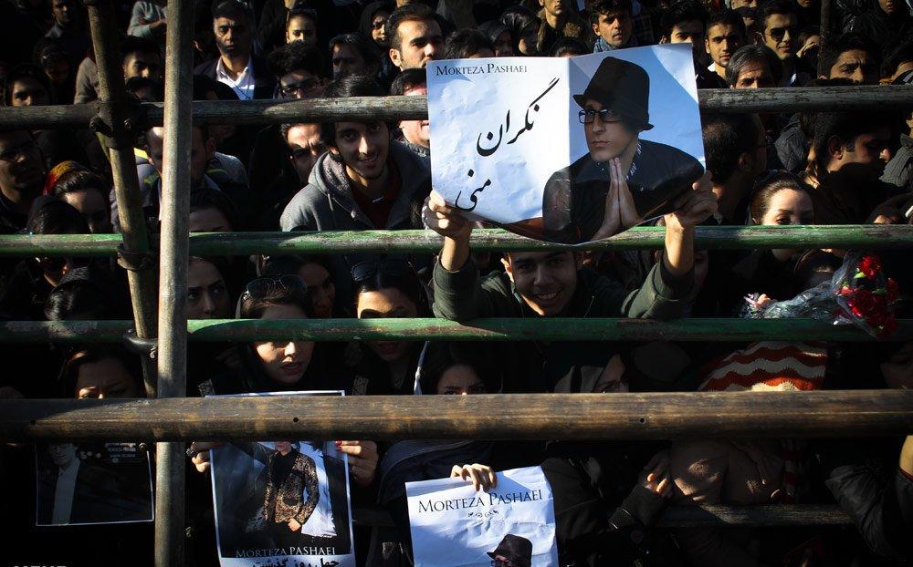 گزارش و تصاویر مراسم چهلم مرتضی پاشایی