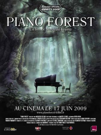 دانلود دوبله فارسی انیمیشن پیانو فارست Piano Forest