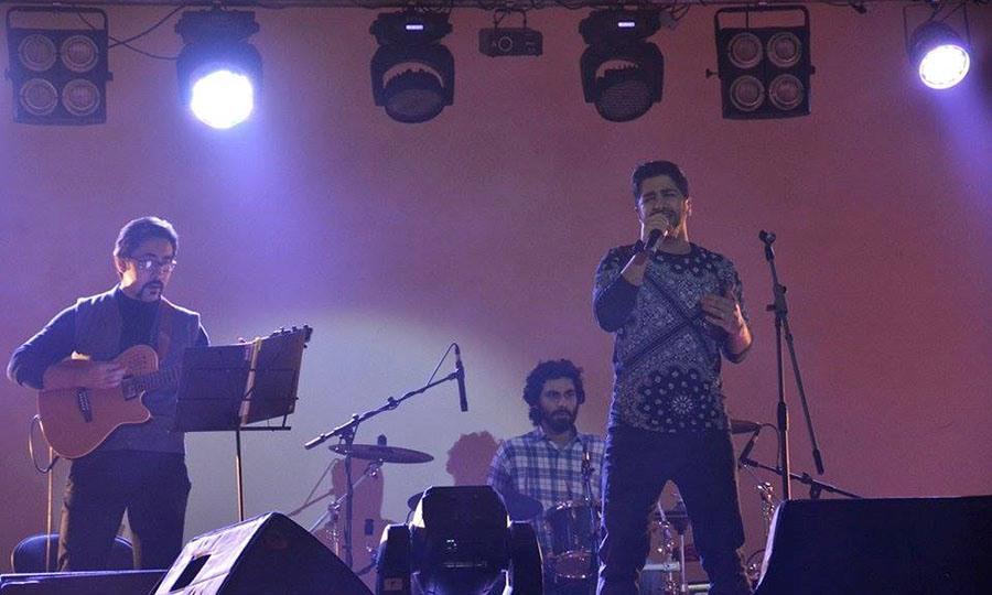 تصاویر کنسرت اراک زانیار