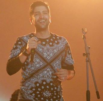 zaniyar تصاویر کنسرت اراک زانیار