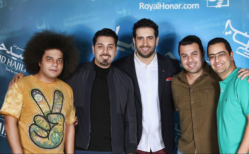 Hajili%2014 گزارش و تصاویر کنسرت تهران امید حاجیلی