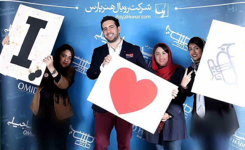 Hajili%2023 گزارش و تصاویر کنسرت تهران امید حاجیلی