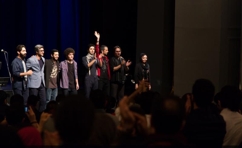 dangshow%2012 گزارش و تصاویر کنسرت دنگ شو در تالار وحدت