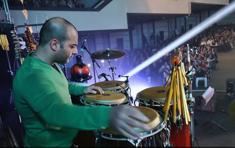 khajehamii%2012 تصاویر کنسرت پاییز تنهایی احسان خواجه امیری در تهران