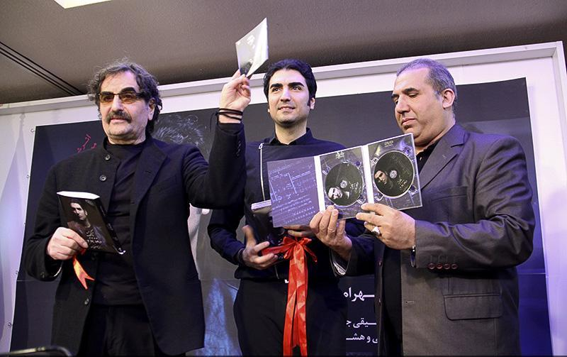 nazeri%208 گزارش و تصاویر رونمایی از آلبوم ناگفته حافظ ناظری
