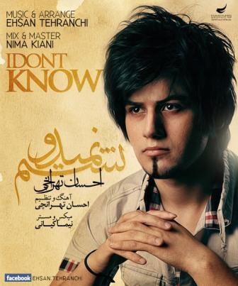 دانلود آهنگ جدید احسان تهرانچی با نام نمیدونستم