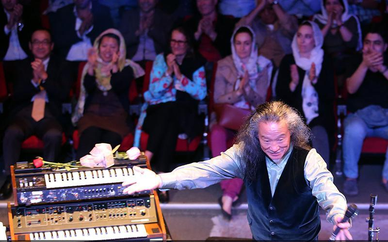 Kitaro 10 تصاویر کنسرت کیتارو در تهران