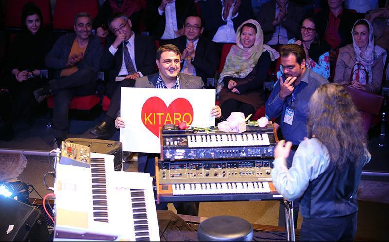 Kitaro 11 تصاویر کنسرت کیتارو در تهران