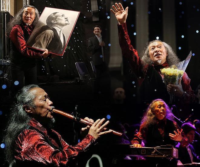 Kitaro 12 تصاویر کنسرت کیتارو در تهران