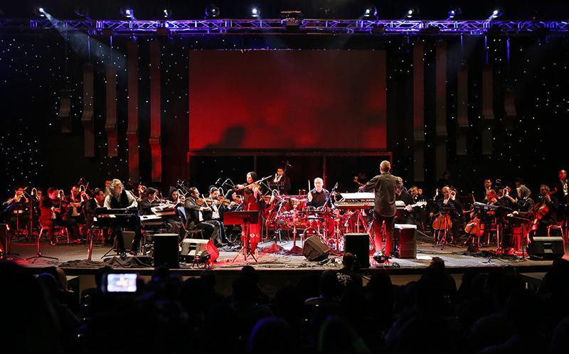 Kitaro 2 تصاویر کنسرت کیتارو در تهران