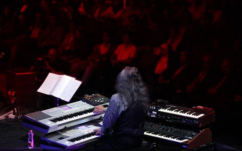 Kitaro 4 تصاویر کنسرت کیتارو در تهران