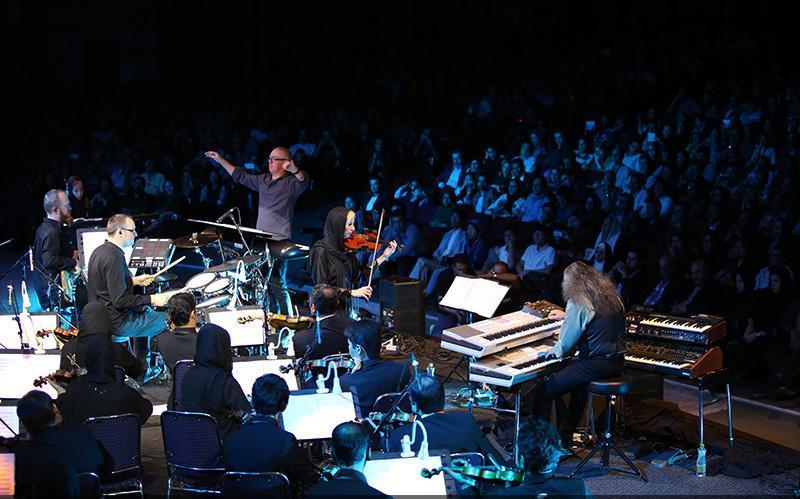 Kitaro 5 تصاویر کنسرت کیتارو در تهران