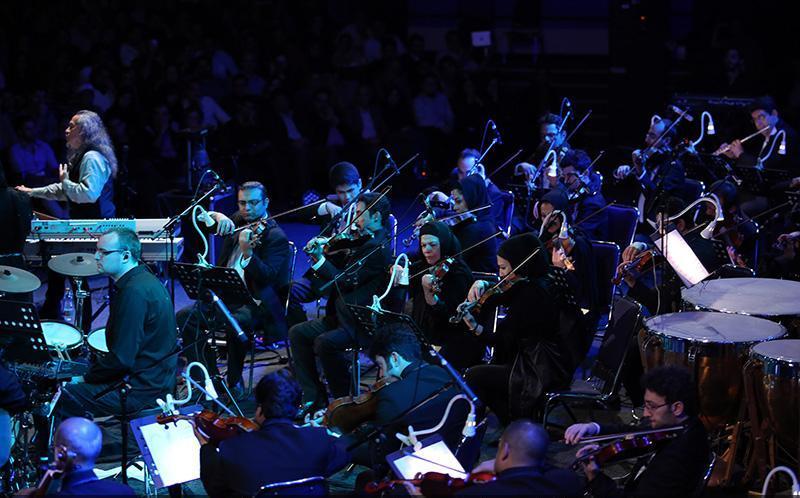Kitaro 7 تصاویر کنسرت کیتارو در تهران
