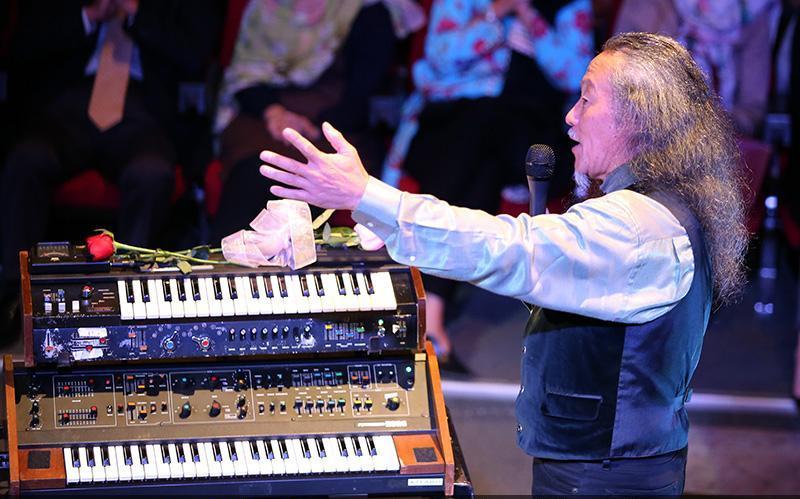 Kitaro 9 تصاویر کنسرت کیتارو در تهران
