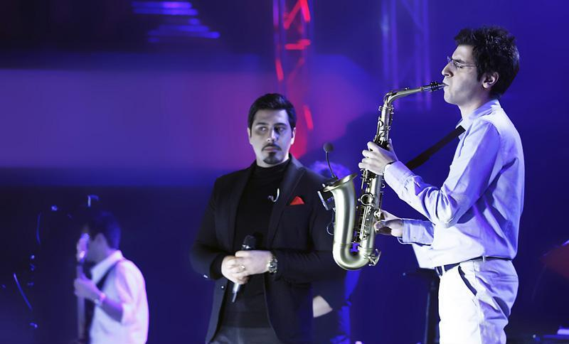ehsan%20khajeh%20amiri%203 تصاویر کنسرت احسان خواجه امیری در تالار وزارت کشور
