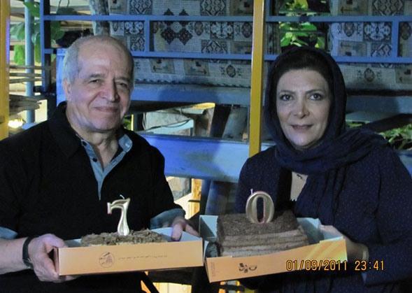 gazi%20moradi%20 %20sabrkon تصاویری از زوج های موفق سینمای ایران