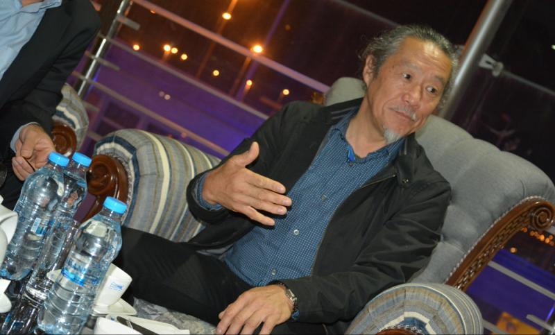 kitaro%202 ورود کیتارو هنرمند جهانی و سرشناس ژاپن به تهران