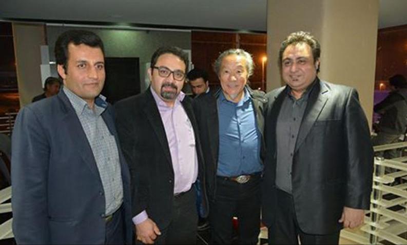 kitaro%203 ورود کیتارو هنرمند جهانی و سرشناس ژاپن به تهران