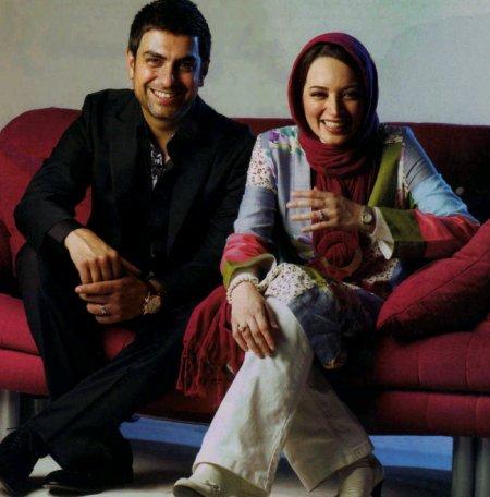 pakdel%20 %20bakhtiyari تصاویری از زوج های موفق سینمای ایران