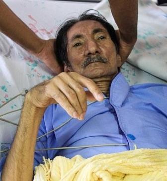 poratayi%202 غلامعلی پورعطایی در بیمارستان