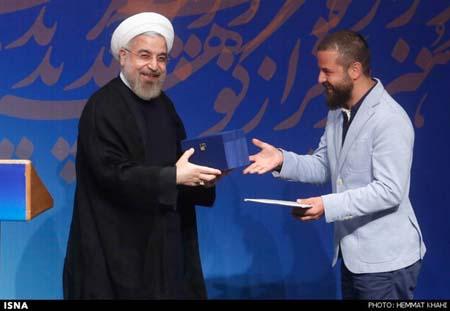 didar%2016 دیدار هنرمندان با دکتر روحانی در شامگاه جمعه