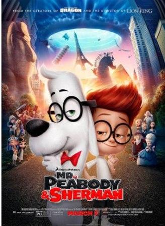 دانلود انیمیشن آقای پیبادی و شرمن Mr. Peabody and Sherman 2014