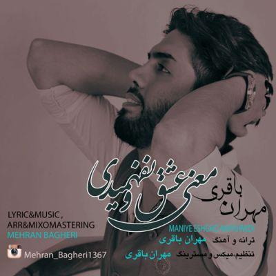 دانلود آهنگ جدید مهران باقری بنام معنی عشق و نفهمیدی