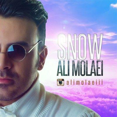 دانلود آهنگ جدید علی مولایی بنام برف