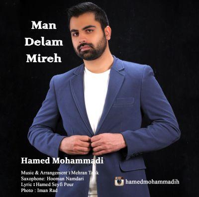 دانلود آهنگ جدید حامد محمدی بنام من دلم میره