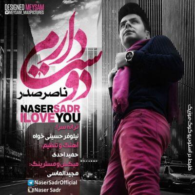 دانلود آهنگ جدید ناصر صدر بنام دوست دارم