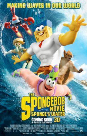 دانلود انیمیشن باب اسفنجی بیرون از آب