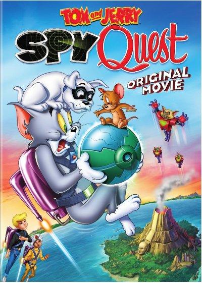 دانلود انیمیشن تام و جری Tom and Jerry Spy Quest 2015